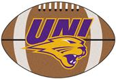 Fan Mats University of Northern Iowa Football Mat