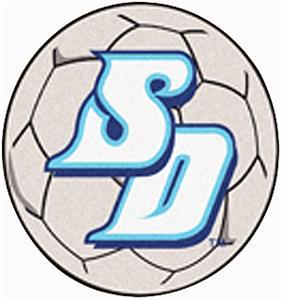 Fan Mats University of San Diego Soccer Ball Mat