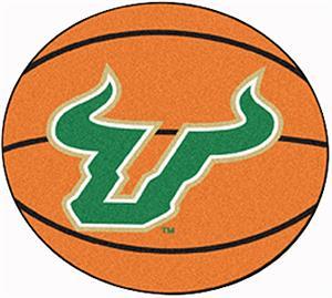 Fan Mats Univ. of South Florida Basketball Mat