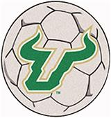 Fan Mats Univ. of South Florida Soccer Ball Mat