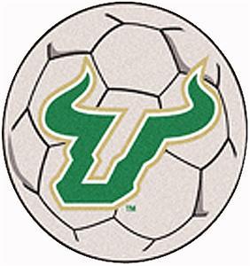 Fan Mats Univ. of South Florida Soccer Ball Mat