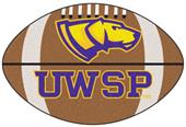 Fan Mats U of Wisconsin-Stevens Point Football Mat