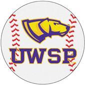 Fan Mats U of Wisconsin-Stevens Point Baseball Mat