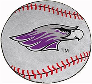 Fan Mats Univ of Wisconsin-Whitewater Baseball Mat