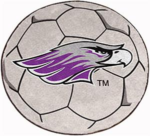 Fan Mats U of Wisconsin-Whitewater Soccer Ball Mat