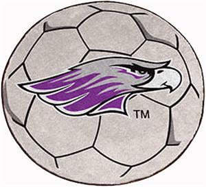 Fan Mats U of Wisconsin-Whitewater Soccer Ball Mat