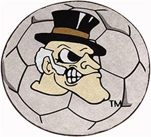 Fan Mats Wake Forest University Soccer Ball Mat