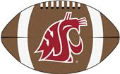 Fan Mats Washington State University Football Mat