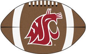 Fan Mats Washington State University Football Mat