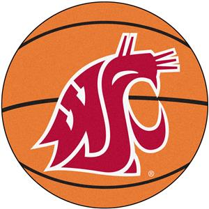 Fan Mats Washington State Univ. Basketball Mat