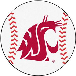 Fan Mats Washington State University Baseball Mat
