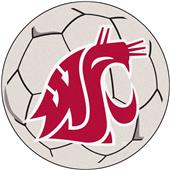 Fan Mats Washington State Univ. Soccer Ball Mat