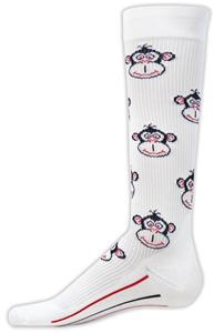 Red Lion Monkey Compression Socks - Closeout