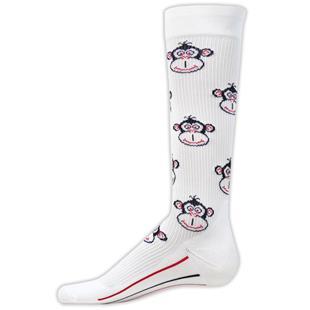 Red Lion Monkey Compression Socks