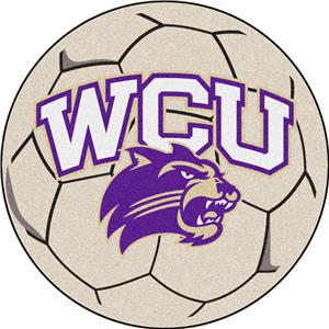 Fan Mats Western Carolina Univ. Soccer Ball Mat