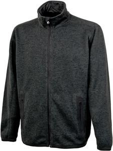 Charles River Men's Heathered Fleece Jacket
