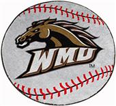 Fan Mats Western Michigan University Baseball Mat