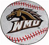 Fan Mats Western Michigan University Baseball Mat