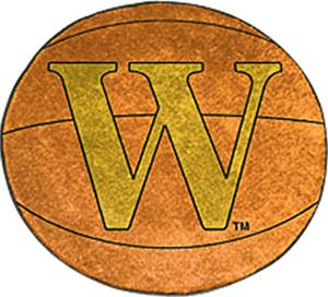 Fan Mats Wofford College Basketball Mat