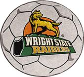 Fan Mats Wright State University Soccer Ball Mat