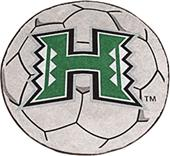 Fan Mats University of Hawaii Soccer Ball Mat