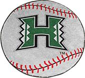 Fan Mats University of Hawaii Baseball Mat