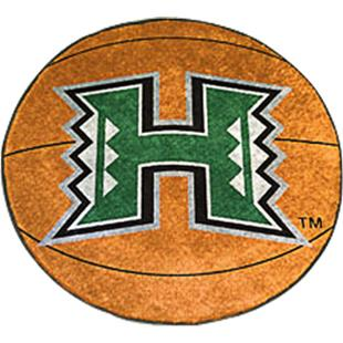 Fan Mats University of Hawaii Basketball Mat