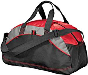 Port & Company Medium Contrast Duffel Bags