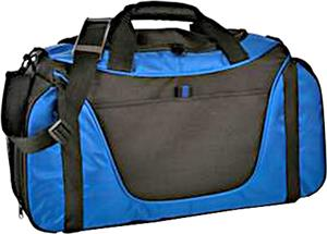 Port & Company Two-Tone Medium Duffel Bag