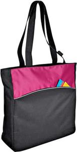 Port & Company Two-Tone Colorblock Tote Bag