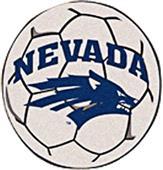 Fan Mats University of Nevada Soccer Ball Mat