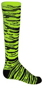 Red Lion Safari Zebra Striped Athletic Socks