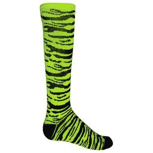 Red Lion Safari Zebra Striped Athletic Socks