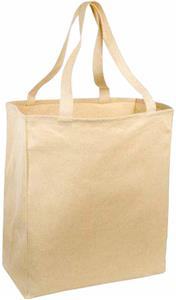 Port & Company Over-the-Shoulder Grocery Tote