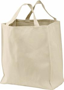 Port Authority 100% Organic Cotton Grocery Tote