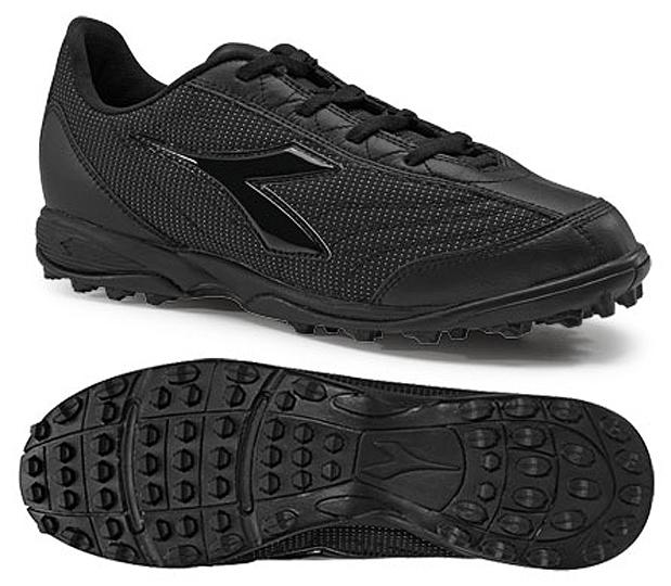 Black Soccer Referee Shoes