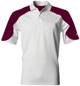 A4 Open Sleeve Moisture Mgmt Polo Shirt