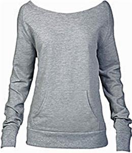 Boxercraft Womens/Girls Flashback Crew Sweatshirts