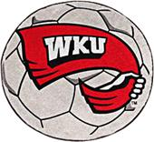 Fan Mats Western Kentucky Univ. Soccer Ball Mat