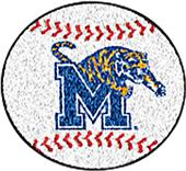 Fan Mats University of Memphis Baseball Mat