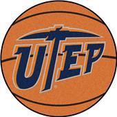 Fan Mats Univ. of Texas-El Paso Basketball Mat