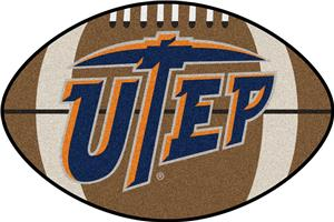 Fan Mats University of Texas-El Paso Football Mat