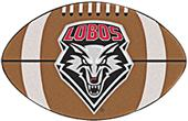 Fan Mats University of New Mexico Football Mat