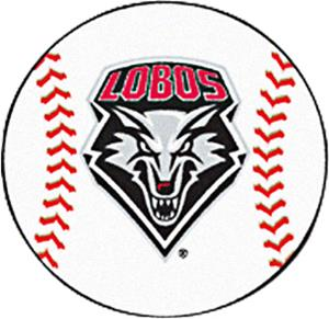 Fan Mats University of New Mexico Baseball Mat