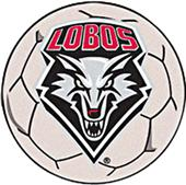 Fan Mats University of New Mexico Soccer Ball Mat