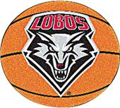 Fan Mats University of New Mexico Basketball Mat