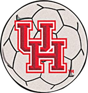 Fan Mats University of Houston Soccer Ball Mat