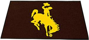 Fan Mats University of Wyoming All-Star Mat