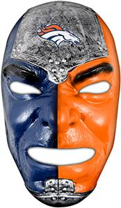 Franklin Sports NFL Denver Broncos Fan Face