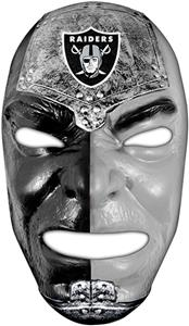 Franklin Sports NFL Oakland Raiders Fan Face